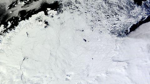 Giant Ice Hole