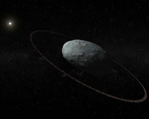 Haumea with Rings