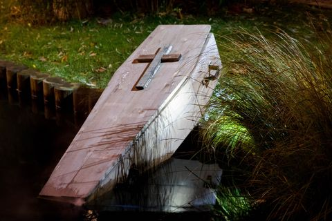 How To Build a Halloween Coffin