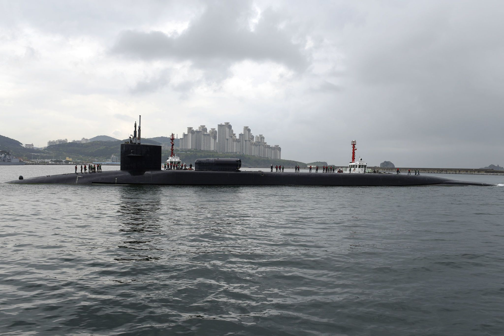 U.S. Cruise Missile-Carrying Sub to Visit South Korea This Weekend