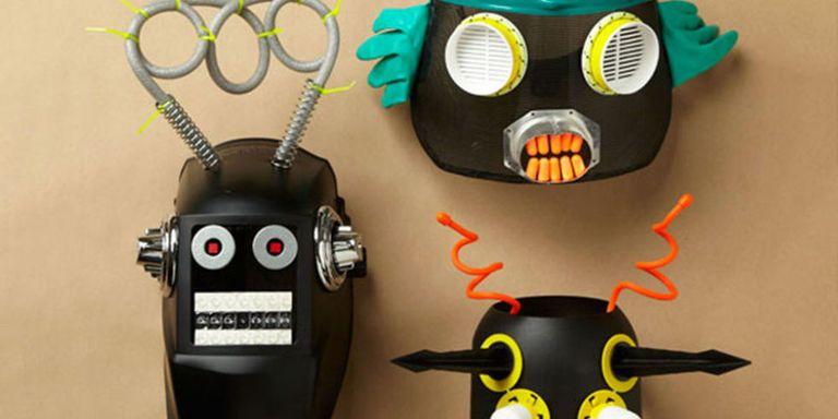Best Homemade Halloween Masks - Cool DIY Masks for Halloween