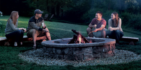 DIY Fire Pit - How to Build a Fire Pit - Outdoor Fire Pit Ideas ...