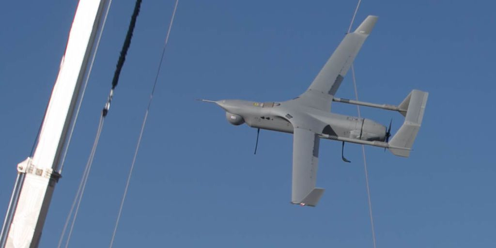 watch the marines snag a 4 million drone with a bungee cord