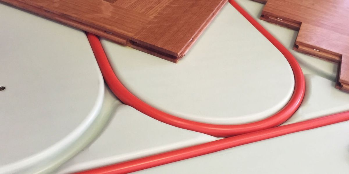 Electric Floor Heating How To Install, Laminate Flooring Radiant Heat