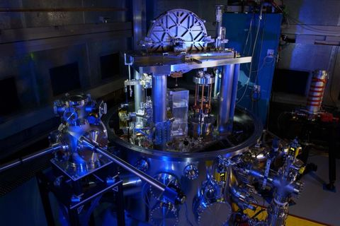 The NIST-4 watt balance.