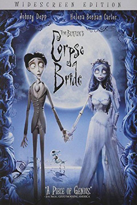 "<p><em data-redactor-tag=""em"" data-verified=""redactor"">$6</em></p><p><a href=""https://www.amazon.com/Tim-Burtons-Corpse-Bride-Widescreen/dp/B000C3L27U/ref=sr_1_3?ie=UTF8&amp;qid=1499885964&amp;sr=8-3&amp;keywords=corpse+bride&amp;tag=countryliving1-20"" target=""_blank"" class=""slide-buy--button"" data-tracking-id=""recirc-text-link"">BUY NOW</a></p><p>Tim Burton's incredible stop-motion animation brings this eerie Russian folktale to life. When a man mistakingly marries a corpse on his journey to his (living) betrothed, the intended bride-to-be must save him from lifelong doom.</p>"