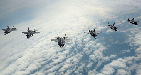 Airplane, Aircraft, Air force, Military aircraft, Vehicle, Fighter aircraft, Aviation, Sky, Flight, Jet aircraft,