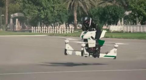 dubai police hoverbike