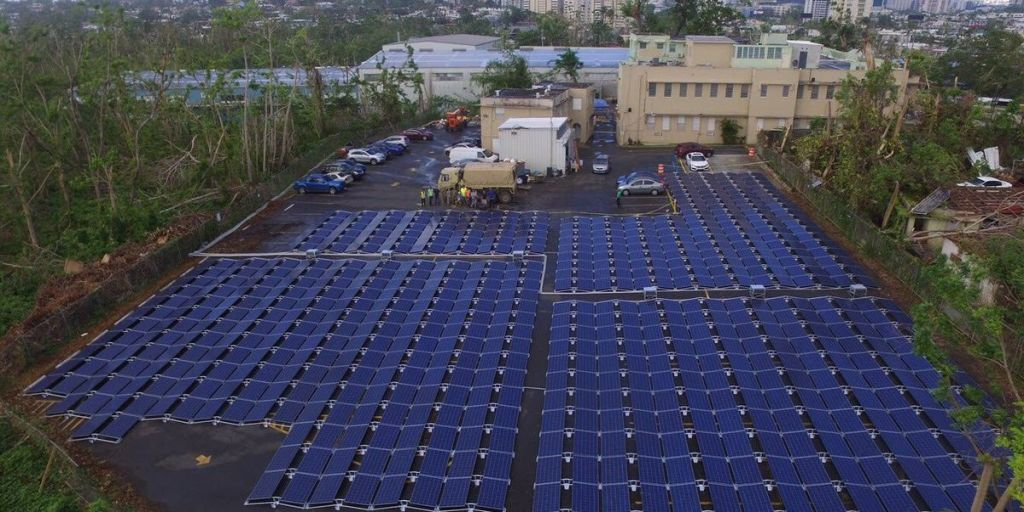 Tesla Solar Farm Powers Puerto Rico Hospital