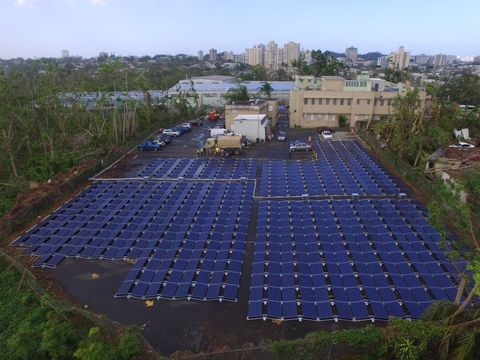 Puerto Rico Solar Hospital