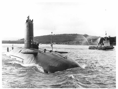 In 1982, A UK Sub Stole a Top Secret Soviet Sonar Device