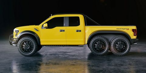 We're Here for This Ridiculous 6-Wheeled VelociRaptor Pickup