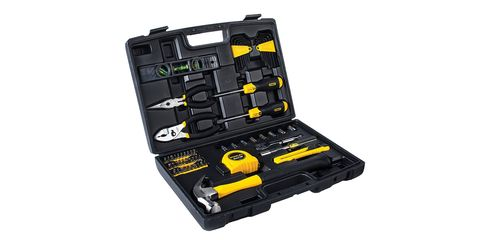 Tool, Set tool, Metalworking, Impact driver, Measuring instrument, Tool accessory, Impact wrench, Drill accessories, Machine, Drill,