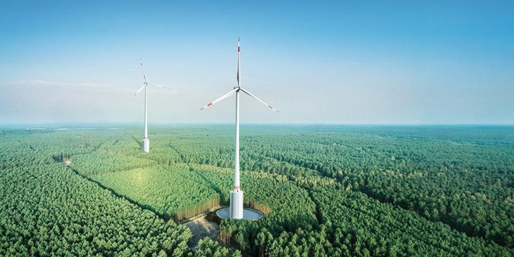 Germany Builds World's Tallest Wind Turbine