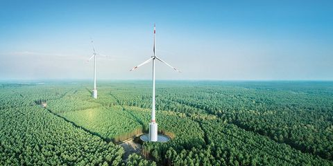 Giant Turbines