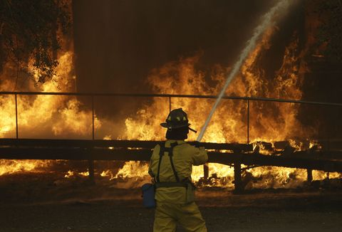 Fire, Heat, Flame, Firefighter, Explosion, Night, Smoke, Event, Fire department, Emergency service,