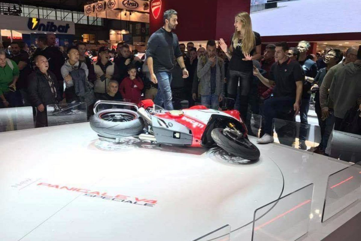 Whoops Someone Knocked Over One Of The Most Expensive Superbikes In