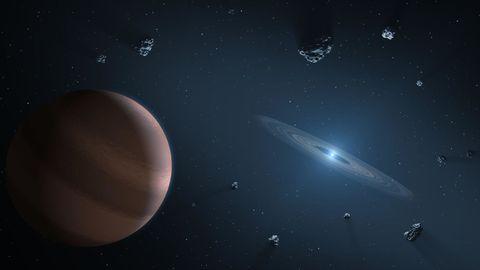 White Dwarf Exoplanet
