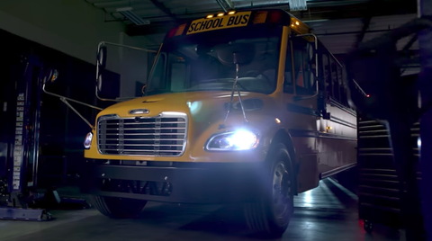 The School Bus of the Future Is Big, Yellow, and Electrified