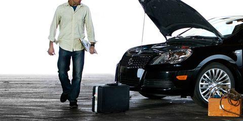Tire, Wheel, Automotive design, Land vehicle, Shirt, Car, Jeans, Automotive tire, Rim, Fender,