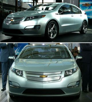 "Despite decades of past innovations and triumphs from General Motors, the guest of honor at today's GM Centennial bash here is a car that won't be in showrooms for at least two years: the <a href=""http://www.popularmechanics.com/cars/reviews/preview/4283076"">Chevrolet Volt plug-in hybrid</a>."