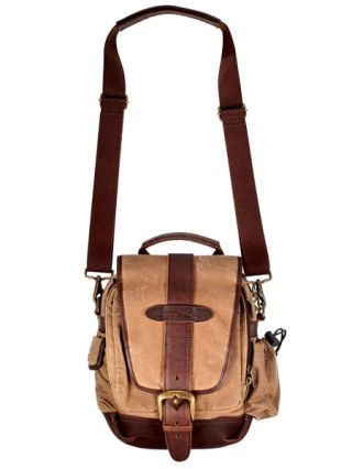 L.L. Bean Waxed Cotton Continental Field Bag, $85