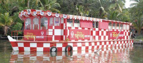 Floating Supermarket, Southern India