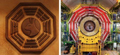 Dharma vs Large Hadron Collider