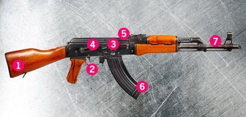 ak 47 weapon diagram house wiring diagram symbols u2022 rh wiringdiagramnews today