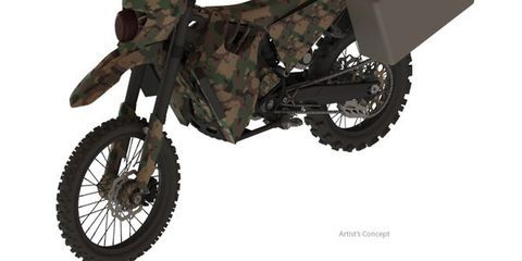 Meet SilentHawk, DARPA's New Quiet All-Wheel-Drive Hybrid-Electric Motorcycle