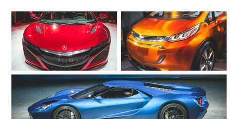 The 12 Most Important Cars From Day One of the Detroit Auto Show