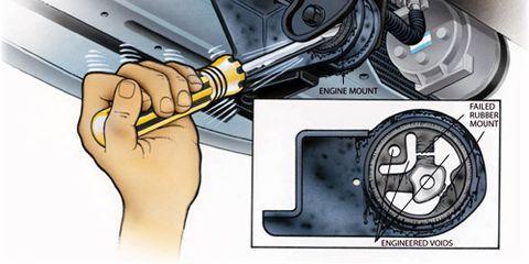 Replacing Loose Motor Mounts