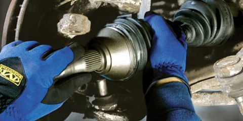 Front Drive Axle Repair - Replace CV Joint Boot and Axle