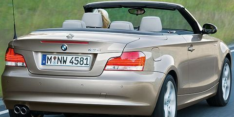 2008 BMW 135i Convertible Test Drive: Top-Down Fun With 300