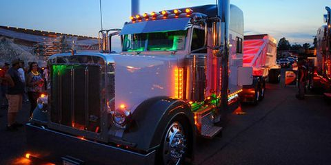 These Customized And Pampered Rig Trucks Exhibited At The Shell Rotella Super Rigs Show May Be Answer To That Question