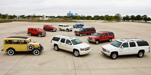 75 Years Of Chevrolet Suburban