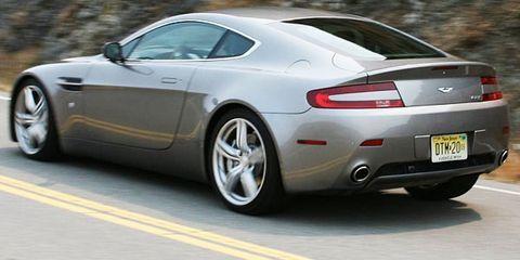 2009 Aston Martin V8 Vantage Test Drive 420 Hp Super Coupe Delivers The Posh Fun