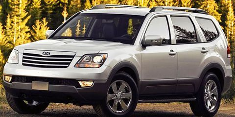 6 Passenger Suv >> 2009 Kia Borrego Test Drive: SUV Delivers 337 Ponies, but Too Late to the Party?