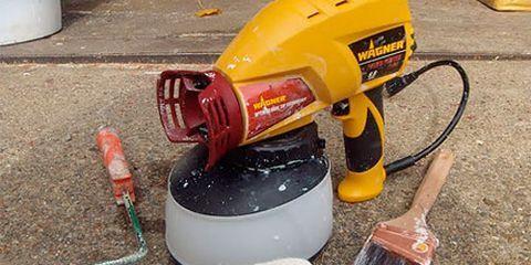 painting tool showdown brush roller vs paint sprayer. Black Bedroom Furniture Sets. Home Design Ideas