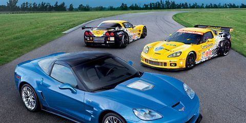 New Corvette Z06 Racecar for Le Mans – Production Corvette for 24