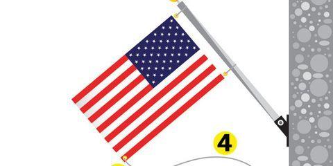 American Flag Display Problems – Tangled American Flag Pole Tips