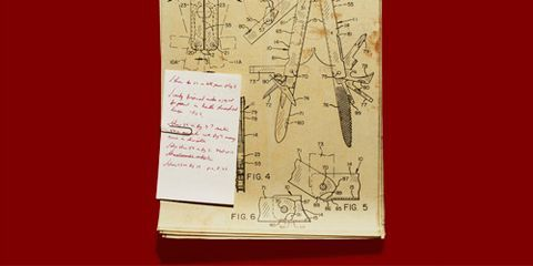 Leatherman patent invention leatherman knife patent a blueprint from tim leathermans archives shows an early version of the first leatherman tool malvernweather Choice Image