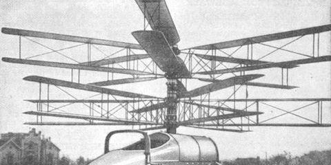 1921 Flying Motor Car