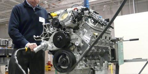 Muscular Milestone: the 100-Millionth Small Block Chevy V-8