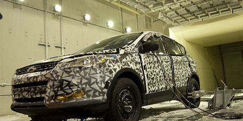 Ford's Wintry Wind Tunnel for Cold-Weather Torture Tests