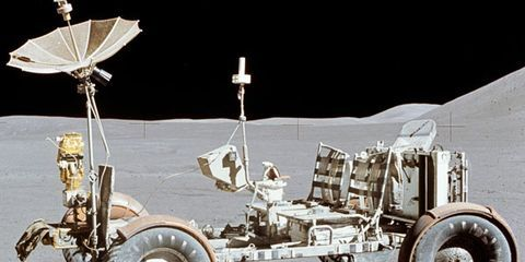 the 5 cars that wheeled across the moon