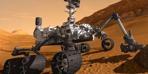 Natural environment, Landscape, Technology, Sand, Machine, Military robot, Aeolian landform, Desert,