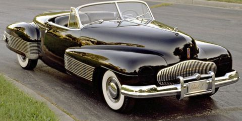 Buick concept cars 1950s