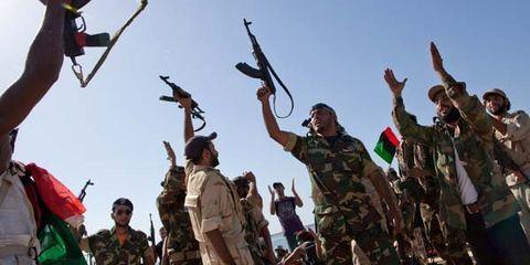 Gaddafy Falls, Benghazi Celebrates