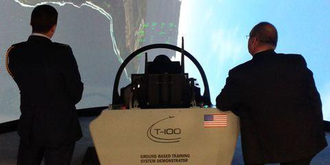 T-100 Flight Simulator
